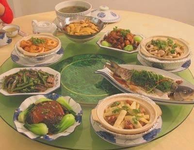 饭菜 饭局 聚餐